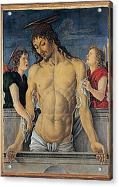 Zoppo Marco, Dead Christ Supported Acrylic Print by Everett