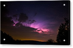 Zues At Play Under The Stars Acrylic Print