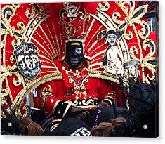 Zulu Mardi Gras Acrylic Print