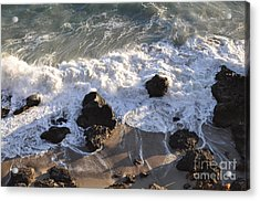 Zuma Beach Acrylic Print by Gandz Photography