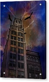 Zuul Visits Asheville Acrylic Print