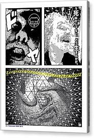 Zzzzzzzz Comix Acrylic Print