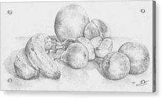 Summer Fruit Acrylic Print by Trudy Brodkin Storace