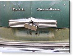1951 Nash Ambassador Hydramatic Back Acrylic Print by James BO  Insogna