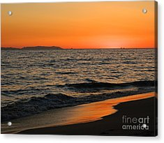 Acrylic Print featuring the photograph  75 Degrees by Everette McMahan jr