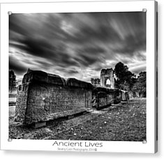 Acrylic Print featuring the photograph  Ancient Lives by Beverly Cash