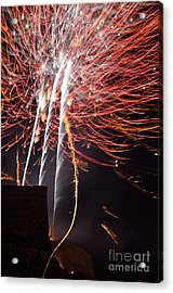 Bastille Day Fireworks Acrylic Print