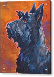 Beam Me Up Scottie Acrylic Print by Shawn Shea