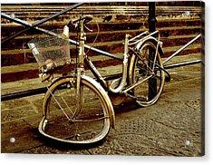 Bicycle Breakdown Acrylic Print