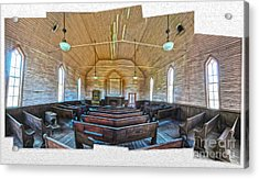 Bodie Ghost Town - Church 03 Acrylic Print by Gregory Dyer