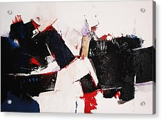 Burst Acrylic Print by Mohamed KHASSIF