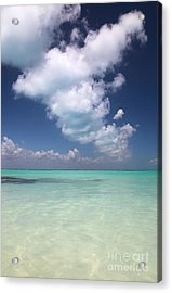 Acrylic Print featuring the photograph  Cloud by Milena Boeva