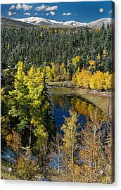 Fall Color On Bobcat Pass Acrylic Print