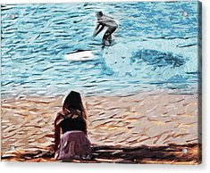 Freedom Acrylic Print by Tilly Williams