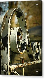 Iron Gate Acrylic Print by Jacqui Collett