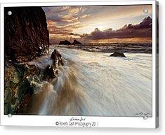 Llanddwyn Island Beach Acrylic Print
