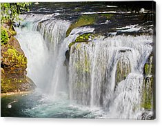 Lower Falls On The Upper Lewis River Acrylic Print