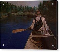 New Discovery Acrylic Print by Joyce Reid