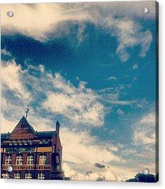 #небо #newtown #sky ... #cloudporn Acrylic Print