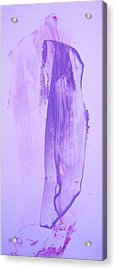 Night Worshiper  Sculptor Or A Psycho   Or All Three Acrylic Print by Bruce Combs - REACH BEYOND