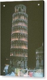 Oil Lamp Light Acrylic Print