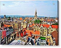 Oxford Cityscape Acrylic Print