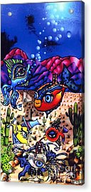 Pacifica In The Desert Acrylic Print