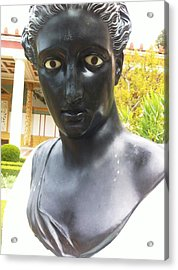 Roman Sculpture Acrylic Print by Paul Washington