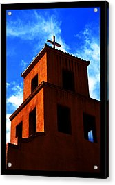 Acrylic Print featuring the photograph  Santuario De Guadalupe by Susanne Still