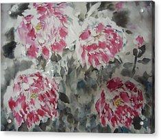 Snow Flower 01 Acrylic Print
