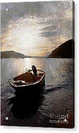 Sunset At Careel Bay Acrylic Print by Avalon Fine Art Photography