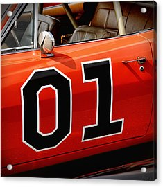 01 - The General Lee 1969 Dodge Charger Acrylic Print by Gordon Dean II