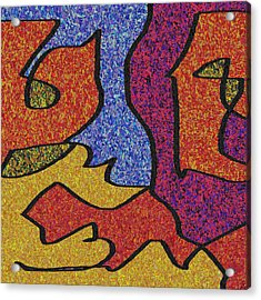 0664 Abstract Thought Acrylic Print by Chowdary V Arikatla