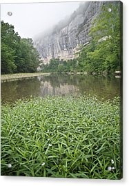 0706-0079 Roark Bluff At Steel Creek 1 Acrylic Print