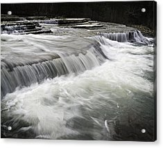 0804-0113 Six Finger Falls 2 Acrylic Print by Randy Forrester