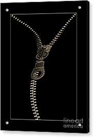 Zip Acrylic Print by Odon Czintos