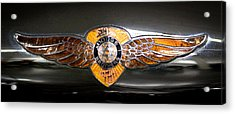 1933 Dodge Dp Rs 2 Door Coupe Acrylic Print by David Patterson