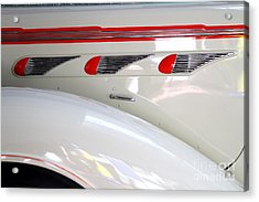 1936 Desoto Deluxe Airstream Taxicab Details Acrylic Print by Wingsdomain Art and Photography