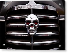 1938 Oldsmobile Business Coupe Acrylic Print by David Patterson