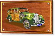 1947 Bentley Shooting Brake Acrylic Print by Jack Pumphrey