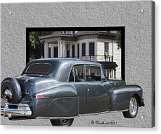 1947 Lincoln Continental Coupe Acrylic Print
