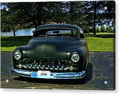 1949 Mercury Lead Sled Acrylic Print by Tim McCullough