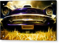 1957 Chevrolet Bel Air Acrylic Print by Phil 'motography' Clark