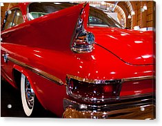 1961 Chrysler 300g 2-door Hardtop Acrylic Print by David Patterson