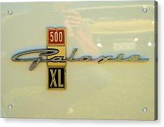 1963 Ford Galaxie Acrylic Print