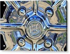 1970 Volkswagen Vw Karmann Ghia Wheel Acrylic Print by Jill Reger