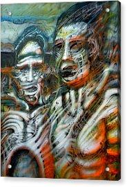2man Acrylic Print by David Frantz