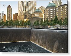 911 Memorial Park Acrylic Print by Andrew Kazmierski