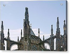 A Forest Of Spires - St Vitus Cathedral Prague Acrylic Print by Christine Till