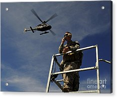 A Joint Terminal Attack Controller Acrylic Print by Stocktrek Images